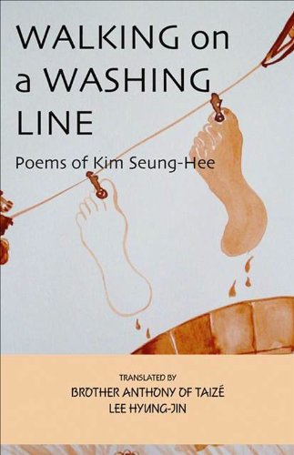 9781933947204: Walking on the Washing Line: Poems of Kim Seung-Hee (Cornell East Asia Series)