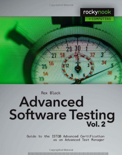 9781933952369: Advanced Software Testing - Vol. 2: Guide to the ISTQB Advanced Certification as an Advanced Test Manager: Guide to the ISTQB Advanced Certification as an Advanced Test Manager v. 2