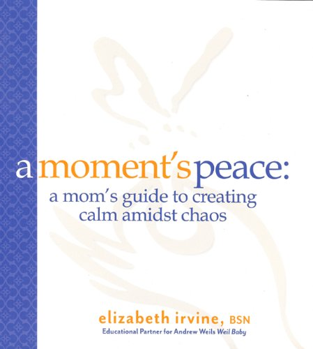 9781933979830: A Moments Peace for Mothers: A Mom's Guide to Creating Calm in the Midst of Chaos