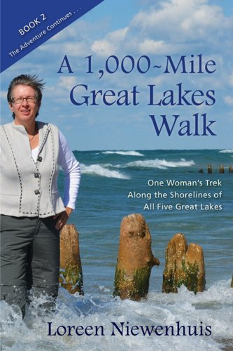 9781933987217: A 1,000-Mile Great Lakes Walk