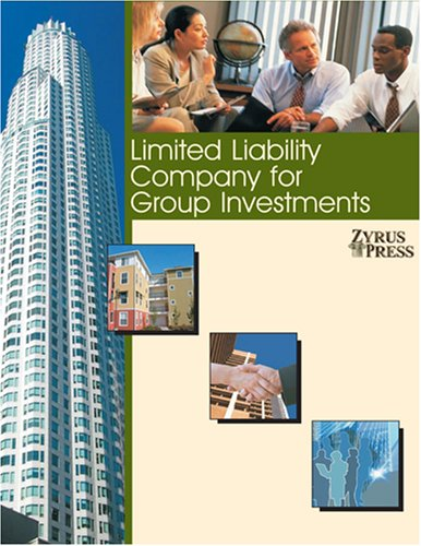 9781933990064: Limited Liability Company for Group Investments