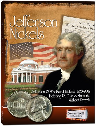 9781933990415: Jefferson Nickels Album, 1938-2012 P&D (Cornerstone Coin Albums)