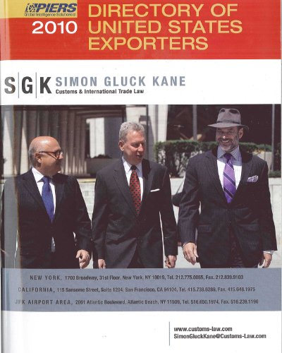 9781934001684: Directory Of United States Exporters 2010