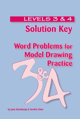 Solution Key - Word Problems for Model: Hazekamp, Jana M;
