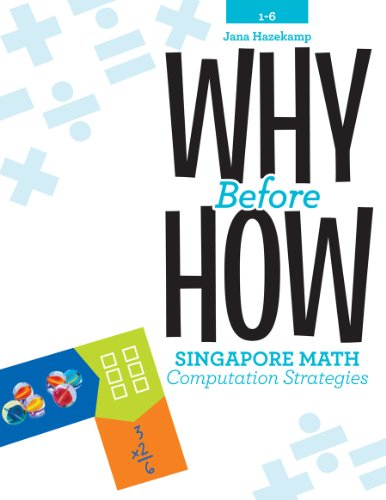 9781934026823: Why Before How: Singapore Math Computation Strategies, Grades 1-6