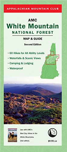 9781934028483: AMC White Mountain National Forest Map & Guide