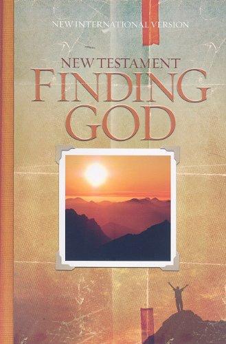 9781934068748: Finding God NIV New Testament (Finding God (Zondervan))