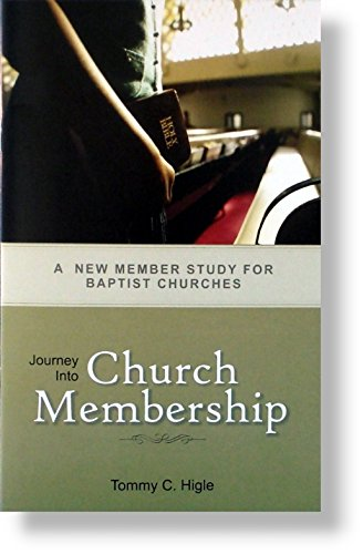 Journey Into Church Membership - New Member: Tommy C. Higle