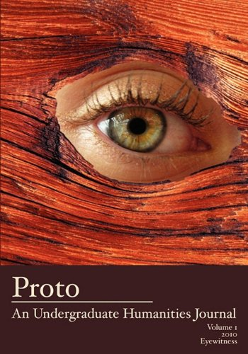 Proto: An Undergraduate Humanities Journal, Vol. 1: Cole, Jean Lee
