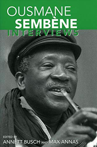 9781934110850: Ousmane Sembene: Interviews (Conversations With Filmmakers Series)