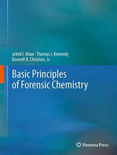 Basic Principles of Forensic Chemistry: J. V. Khan,