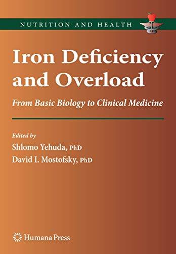 Iron Deficiency and Overload: Shlomo Yehuda