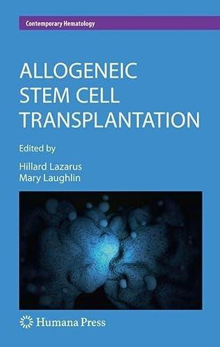 Allogeneic Stem Cell Transplantation (Hardcover)