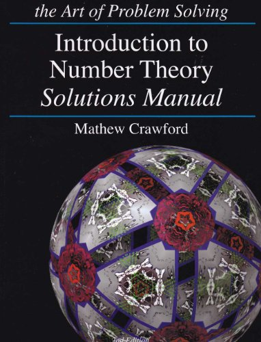 9781934124130: Introduction to Number Theory Solutions Manual