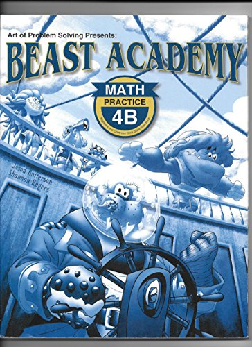 9781934124536: Beast Academy Practice 4B
