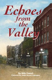 Echoes From The Valley: Billy Powell; Joni Woolf [Editor]