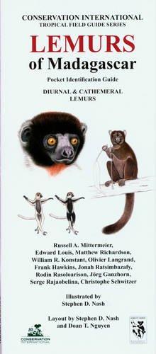 Lemurs of Madagascar: Diurnal and Cathemeral Lemurs (Conservation International Pocket Guide Series...