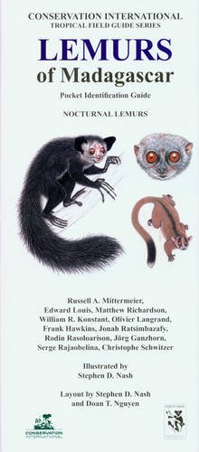 9781934151310: Lemurs of Madagascar: Nocturnal Lemurs (Conservation International Pocket Identification Guide)