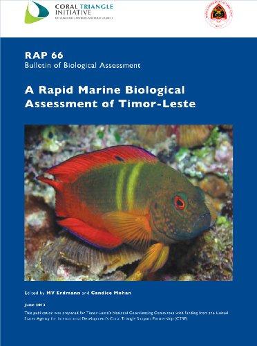 9781934151563: A Rapid Marine Biological Assessment of Timor-Leste: RAP Bulletin of Biological Assessment 66
