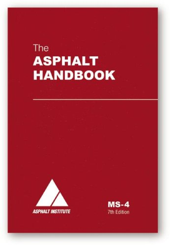 9781934154274: The Asphalt Handbook