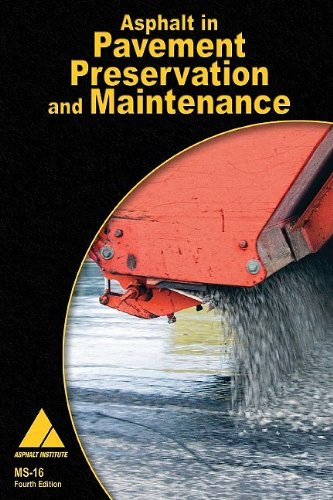 9781934154588: Asphalt in Pavement Preservation and Maintenance