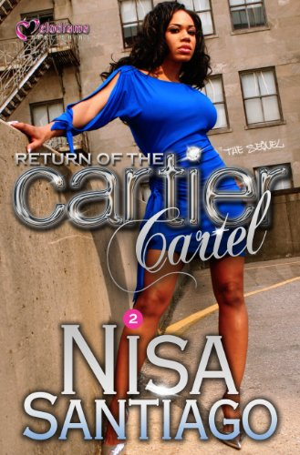 Return of the Cartier Cartel (Paperback) 9781934157305 Brooklyn empress Cartier knows the streets of Brooklyn like nobody's business. In fact, she successfully built her Cartier Cartel drug ring on the code of the streets, hustling and stacking paper. However, the life of crime is wearing her down, and she's ready to quit the game when two of her Cartel soldiers are gunned down in the same streets that fattened her bankroll. Now she's hell bent on seeking revenge for her friends, and she and her most loyal set out to solve the hood's whodunit. Along the way, tempers flare and love is tested as her prince steps out of line and sleeps with the enemy. Devastation reigns supreme in the streets of Brooklyn, while Cartier is constantly looking over her shoulder, wondering who will be the next to stab her in the back.
