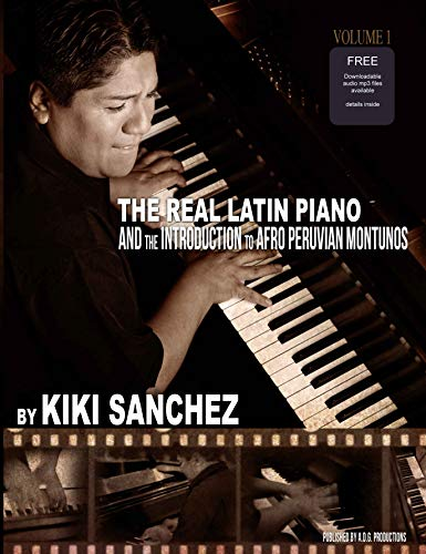 The Real Latin Piano Book/audio CD: Kiki Sanchez