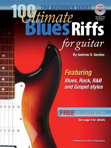 100 Ultimate Blues Riffs for Guitar Beginner Series