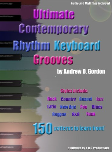 9781934163450: Ultimate Contemporary Rhythm Keyboard Grooves