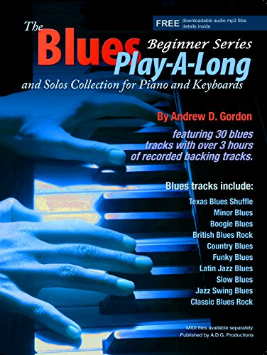 9781934163559: The Blues Play-A-Long and Solos Collection for Piano/Keyboards Beginner Series