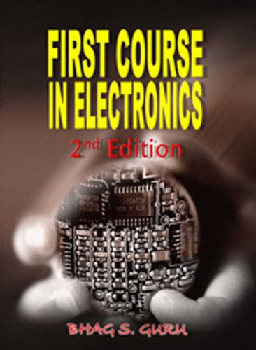 9781934188132: First Course in Electronics, 2nd Edition