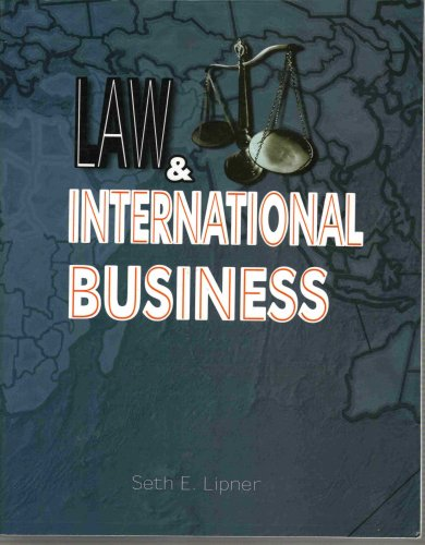 9781934188507: Law and International Business