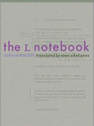 The L Notebook: Macher, Sabine