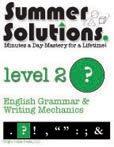 9781934210031: Summer Solutions English & Grammar Workbook (Level 2)