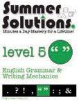 9781934210062: Summer Solutions English & Grammar Workbook (Level 5)