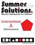 9781934210260: Summer Solutions Math Workbook (Intermediate A)
