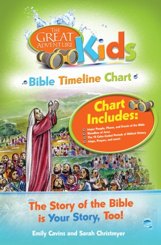 9781934217634: Great Adventure Kids Bible Timeline Chart