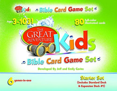 9781934217658: Great Adventure Kids Bible Card Game Set