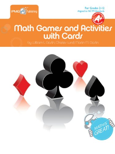 9781934218013: Math Games & Activities with Cards