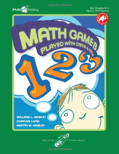 Math Games Played with Cards and Dice,: William L. Gaslin,