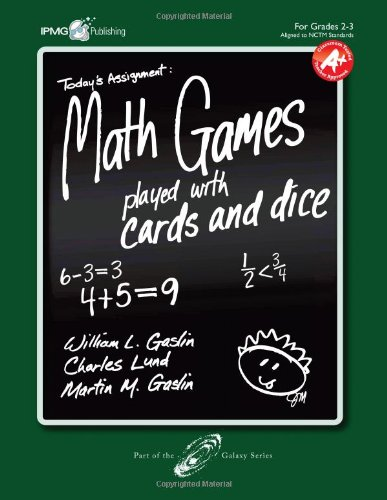 Math Games Played with Cards and Dice,: Lund, Charles