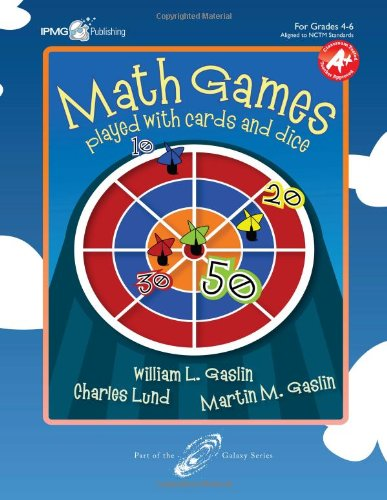Math Games Played with Cards and Dice,: Charles Lund