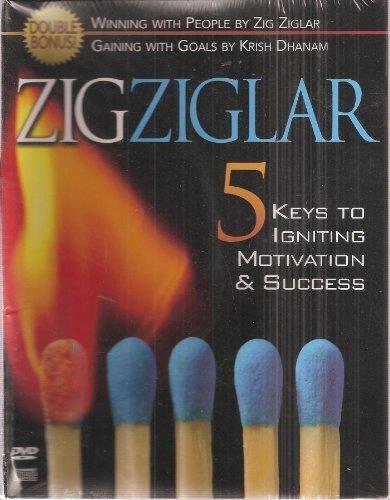 5 Keys to Igniting Motivation & Success Cd/Dvd Set! Zig Ziglar: Zig Ziglar