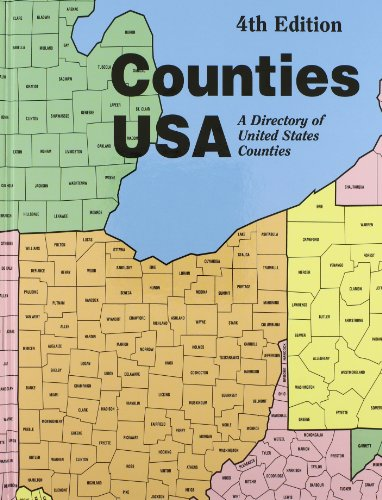 Counties USA: A Directory of United States Counties Containing Addresses, Telephone Numbers, Fax ...