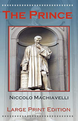 9781934255186: The Prince by Niccolo Machiavelli - Large Print Edition