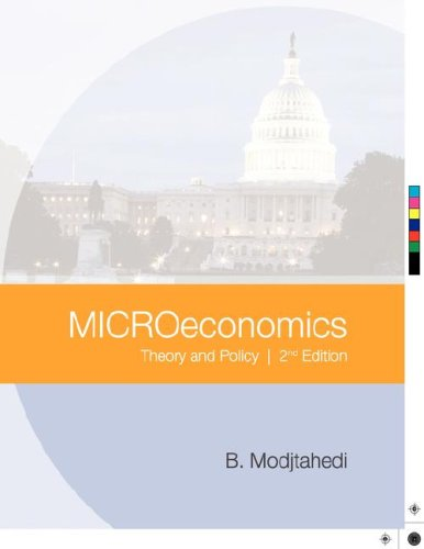 Microeconomics: Theory and Policy Second Edition: Modjtahedi, Bagher