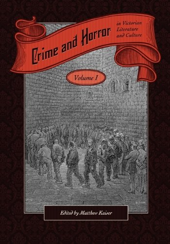 9781934269633: 1: Crime and Horror in Victorian Literature and Culture-Volume I