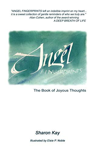 9781934280829: Angel Fingerprints: The Book of Joyous Thoughts