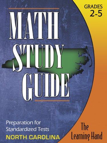 9781934295205: Math Study Guide, North Carolina Standardized Tests