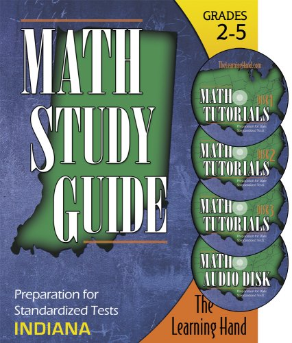 Indiana Math Tutorials for Standardized Tests, Grades 1-5: The Learning Hand